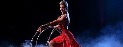 Hula Hoop Act Artist — 0178
