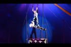 AERIAL ACT DUO CRADLE  – Artist 0148