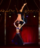 Aerial Act Duo. Ukraine Artist — 0297